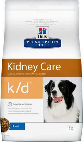 купить хиллс Hill's™ Prescription Diet™ Canine k/d™ Canine Original сухой корм для собак, диетический рацион при заболеваниях почек