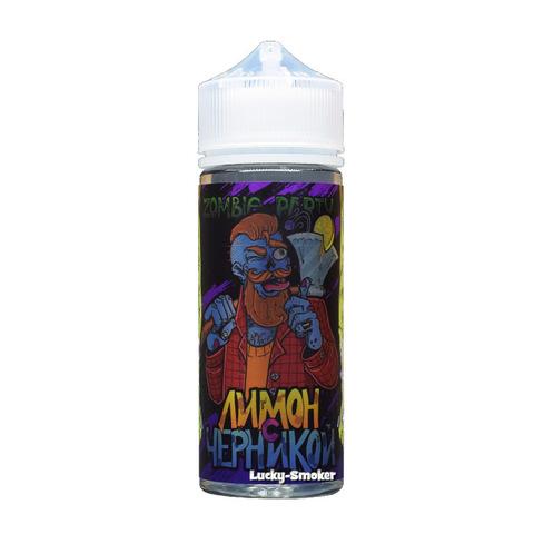 Жидкость Zombie Party 120 мл Лимон с Черникой