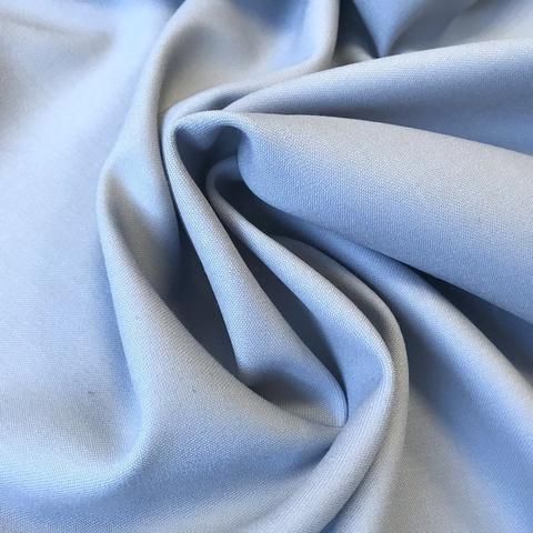 Мерный лоскут 1,65 м  костюмно-плательная ткань цвет нежно-голубой 3218