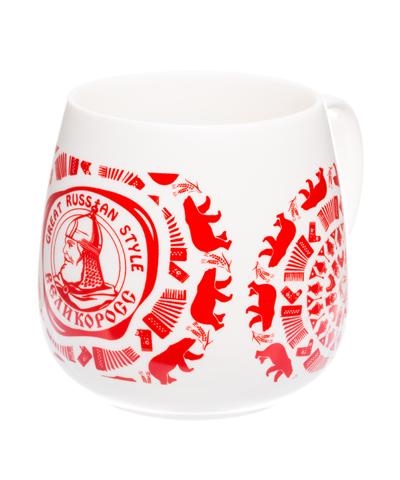 """VELIKOROSS mug """"Russian fun"""""""