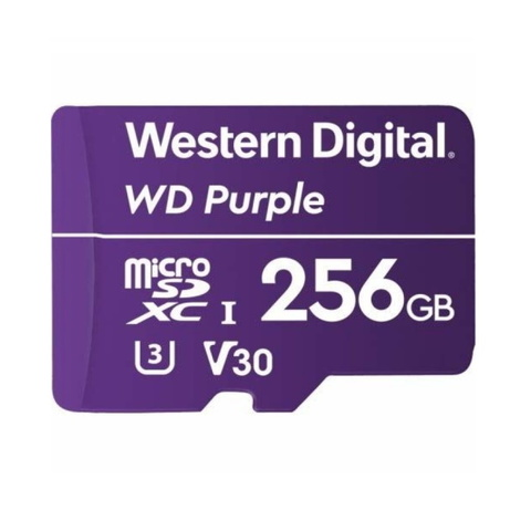 Micro SDHC WD Purple 256GB