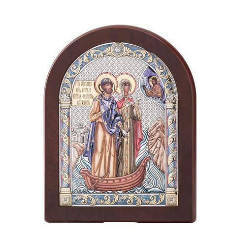 Икона именная Петр и Феврония Муромские