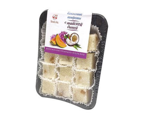 Кокосовые конфеты с тайской дыней, 150 г