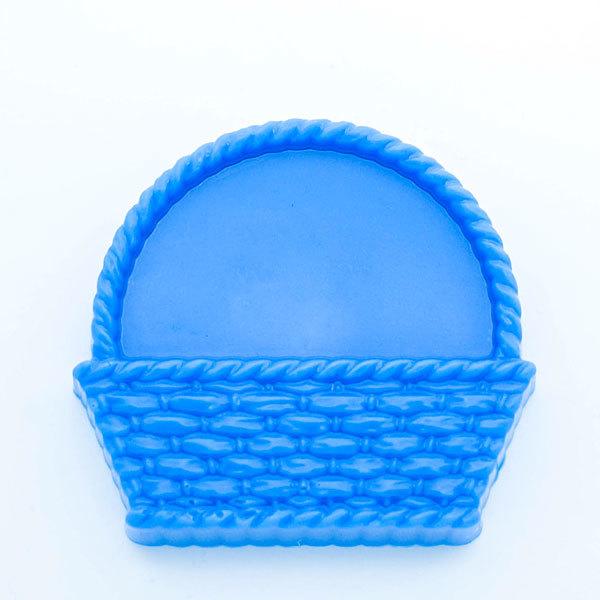 Пластиковая форма для мыла Корзина