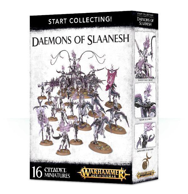 Start Collecting! Daemons of Slaanesh. Коробка