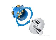 T-1000 Round Смеситель для душа термостатический скрытого монтажа (для установки с RocaBox A525869403) Roca 5A2C09C00 фото