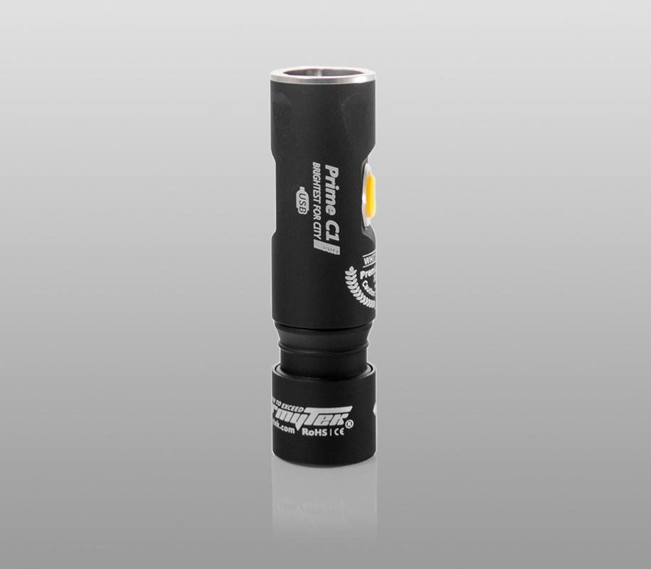 Фонарь на каждый день Armytek Prime C1 Pro Magnet USB (тёплый свет) - фото 10