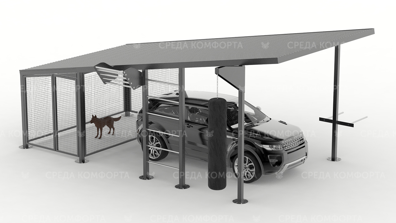 Навес для автомобиля AVNVS0052