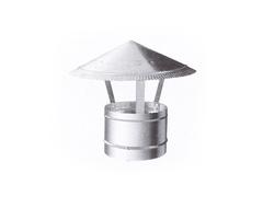 Зонтик крышный D 200 мм оцинкованная сталь