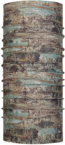 Бандана-труба летняя с защитой от насекомых Buff CoolNet Insect Shield Zinc Taupe Brown фото 1