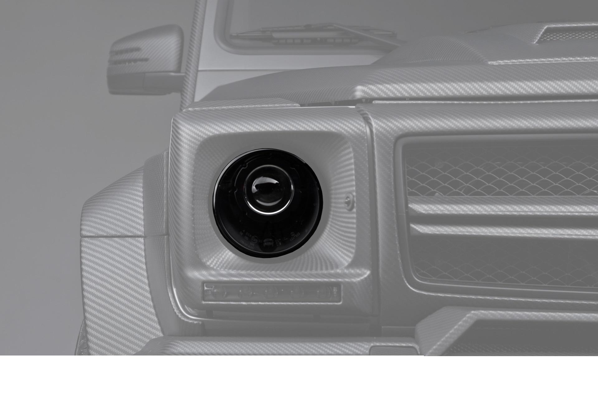 Черные фары Brabus Style для Mercedes G-class W463