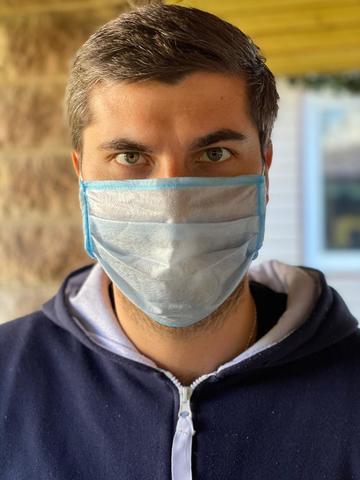 Защитная маска без фиксатора 5.000 шт (5 руб/шт)