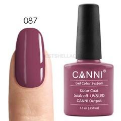 Canni, Гель-лак № 087, 7,3 мл