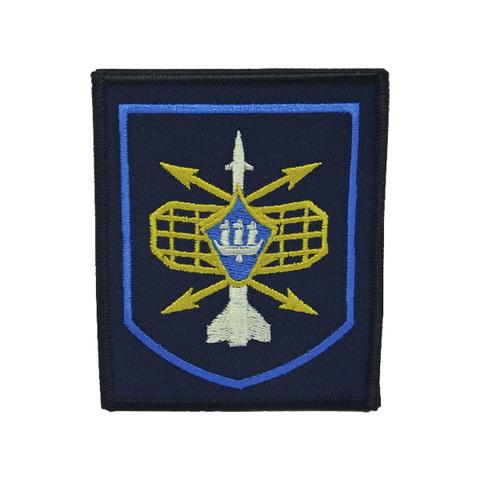 Шеврон нарукавный РТВ (синий,синий кант)