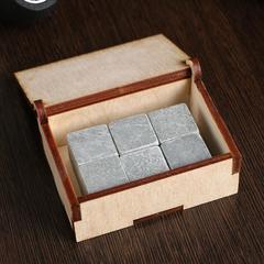 Камни для виски «Чего пить того не миновать», в шкатулке, 6 шт, фото 4