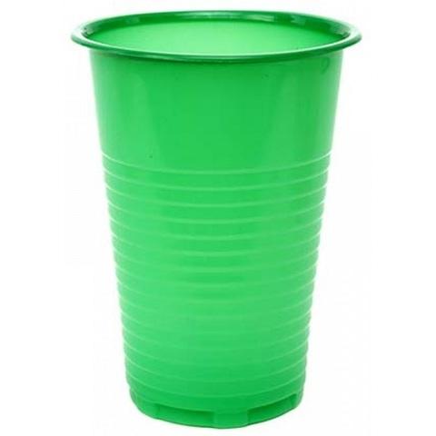 Стакан 200 мл одноразовый зелёный ПП