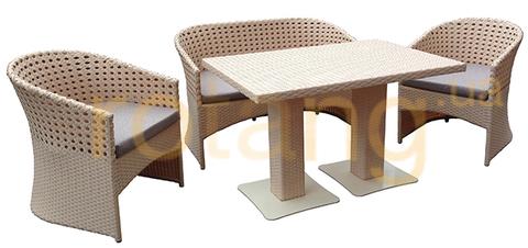 Стіл обідній Монако-2 зі склом