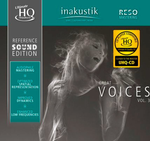 Inakustik CD, Great Voices Vol. IIl, 01675085