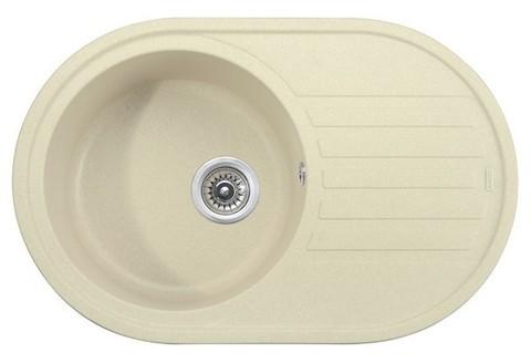 Кухонная гранитная мойка Kaiser KGM-7750-J жасмин