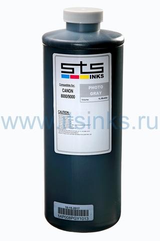 Пигментные чернила STS для Canon Photo Gray 1000 мл