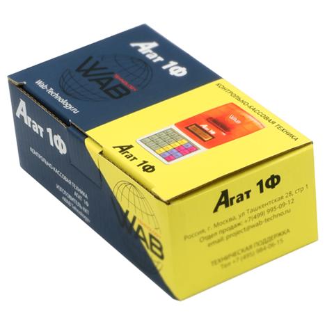 Агат 1Ф - коробка