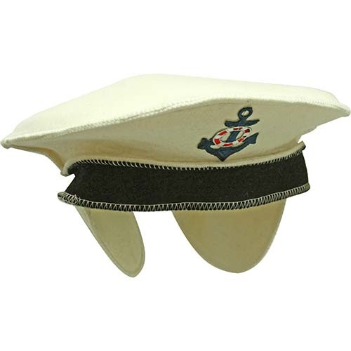Фетровая шапка банная