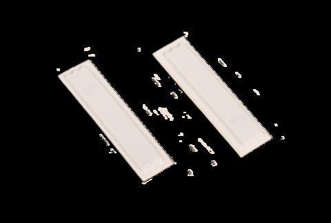 Этикетка белого цвета