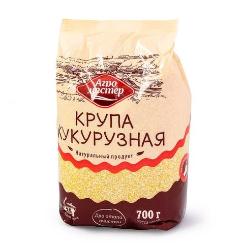 Кукурузная крупа АГРОМАСТЕР 700 гр м/у РОССИЯ