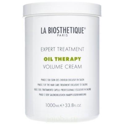 La Biosthetique Oil Therapy: Маска для восстановления тонких волос фаза 2 (Volume Cream), 1л