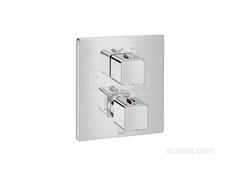 T-1000 Square Смеситель для душа термостатический скрытого монтажа (для установки с RocaBox A525869403) Roca 5A2C1AC00 фото