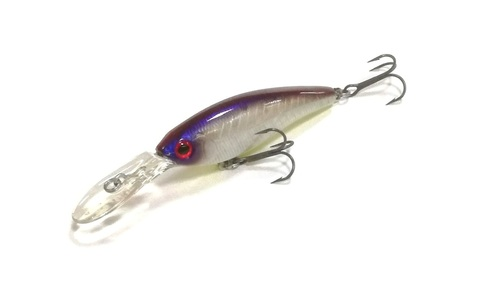Воблер Daiwa Steez Shad 54 F-MR / Ghost Herring (07430535)