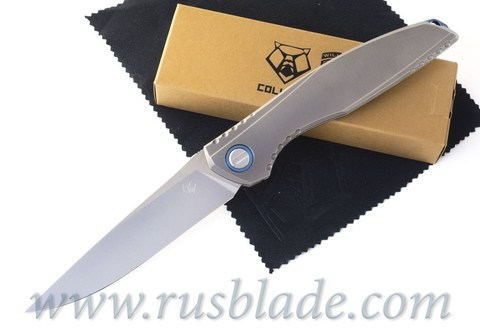 Shirogorov 110 KickStop Sapphire Blue Lee Williams Collab