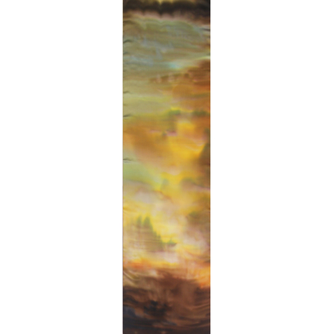 Шелковый шарф батик Ветер С-21