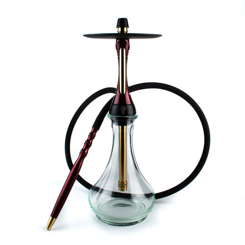КАЛЬЯН ALPHA HOOKAH MODEL S Candy Red