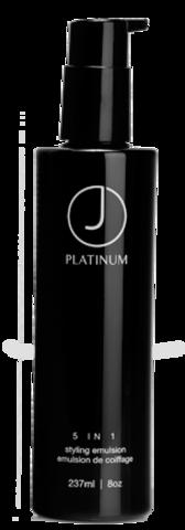 Эмульсия многофункциональная для укладки Platinum J BEVERLY HILLS (5 в1) 237 мл