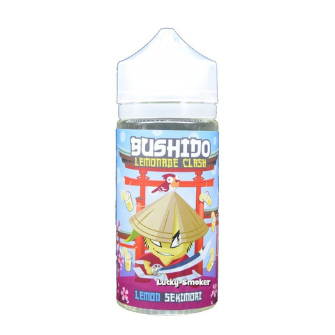 Жидкость Bushido lemonade clash 100 мл Lemon Sekimori