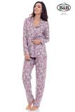 Женская пижама с цветочным рисунком B&B