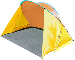 Тент-пляжный Jungle camp Miami Beach желтый/оранжевый