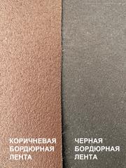 Лента бордюрная  20 см, толщина 3 мм, в рулоне 10 метров, коричневая
