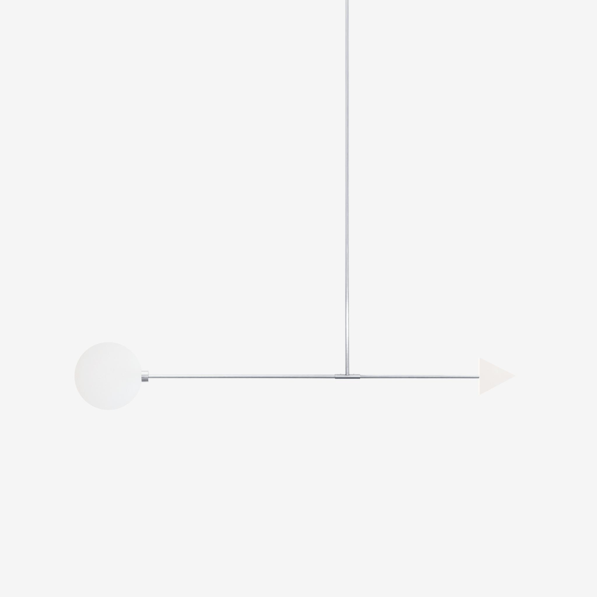 Подвесной светильник Libra trig белый мрамор - вид 4