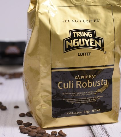 Вьетнамский кофе в зернах Trung Nguyen Culi Robusta