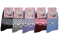 E016 носки женские 37-41 (12шт), цветные