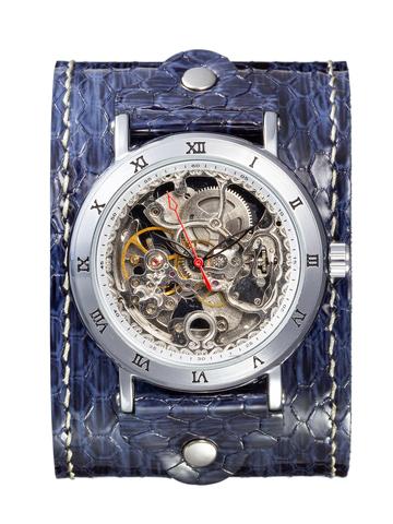 Часы скелетоны женские механические Breeze YOURTIME