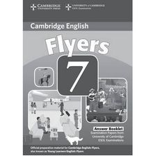 C Young Learners Eng Tests 7 Flyers Answer Booklet
