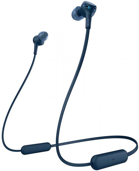WI-XB400L беспроводные наушники Sony, цвет синий