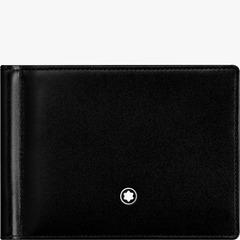 Бумажник 6СС Meisterstück с зажимом для банкнот