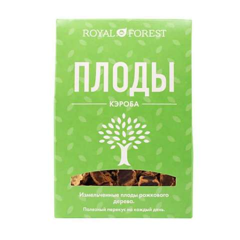 Плоды рожкового дерева, 100 гр. (ТрансКэроб)