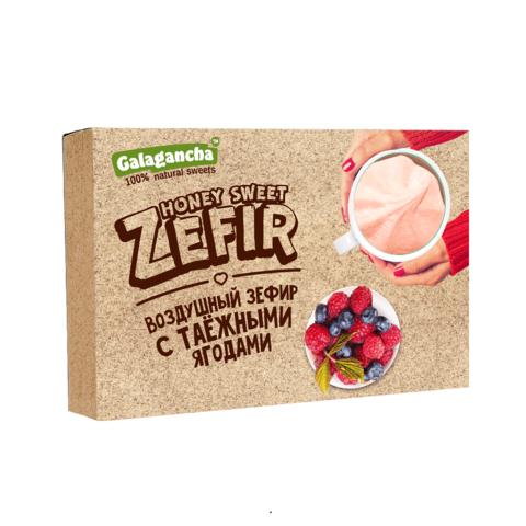 Зефир с таёжными ягодами Galagancha 140 г