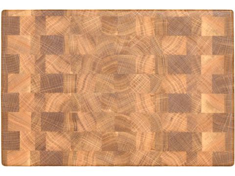 Торцевая разделочная доска 30x20x3 см. дуб, арт. 010