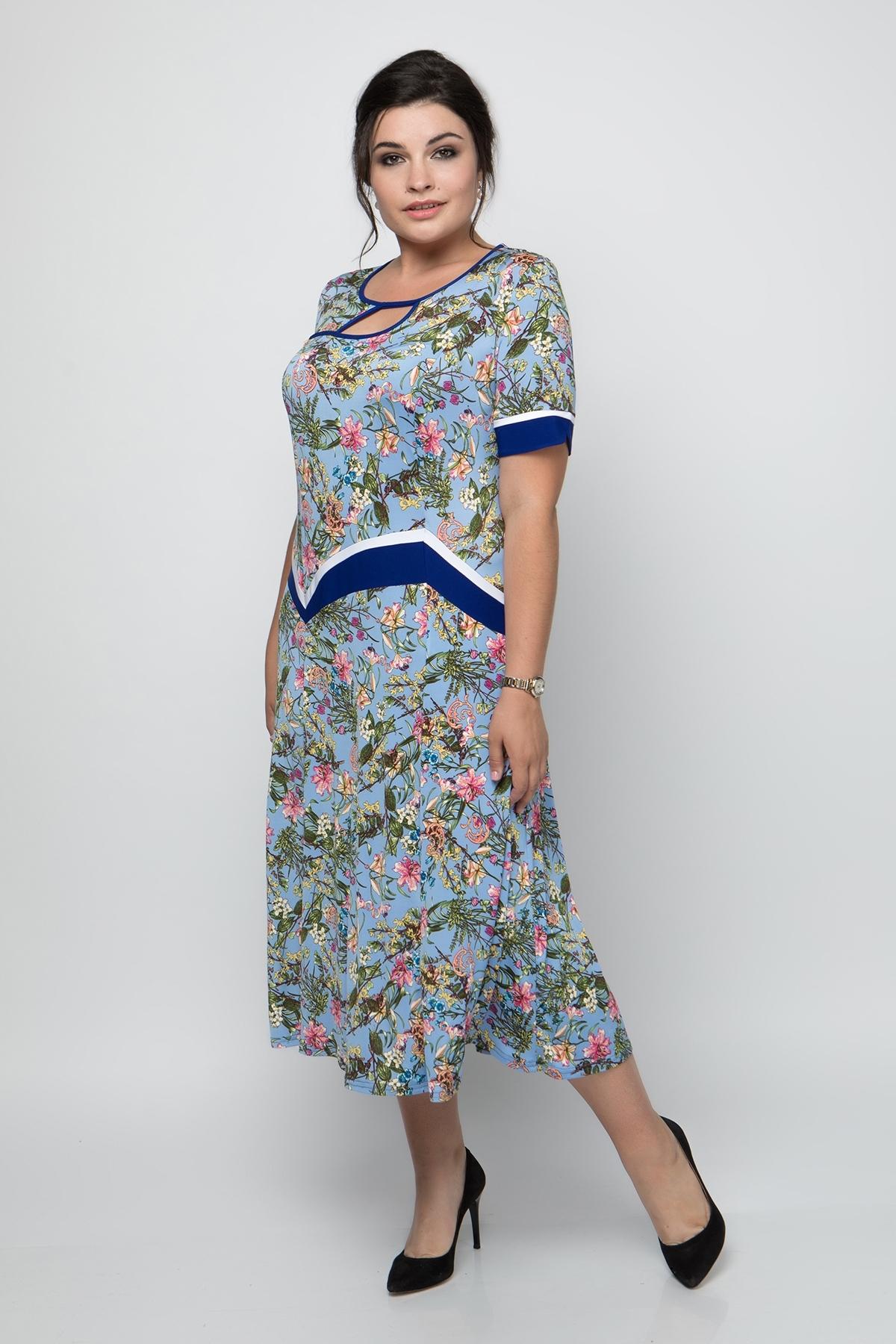 Платье Наоми (синий)